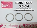 RING BULAT O - diameter : 3.5 CM / PC (PUTIH)