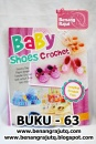 BUKU 63 - BABY SHOES CROCHET