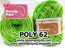 POLY 62 - HIJAU KIWI (new!!!)