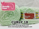 benang rajut limited CURLY 18 - TURKIS PASTEL