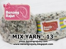MIX FANCY YARN - 13