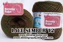 LACE SEMBUR - 12 (REGAL-HIJAU)