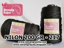 NILON CONES - 200 GRAM - 217 (BLACK)