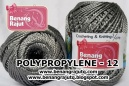 POLYPROPYLENE - 12 - SILVER SOLID