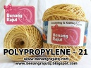POLYPROPYLENE - 21 - LIGHT GOLD
