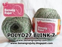 POLYD27 BLINK 7 (GREEN - SILVER)