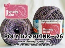 POLY D27 BLINK - 26 (UNGU + ABU2 TUA+ GOLD)