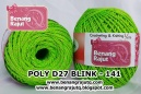 benang rajut medium POLY D27 BLINK - 141