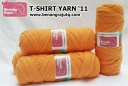 benang rajut - T-SHIRT YARN '11 (ORANGE)