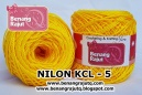 benang rajut - NILON KCL - 5 (YELLOW)