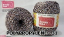 benang rajut medium POLYPROPYLENE - 31