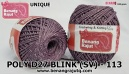 benang rajut medium POLY D27 BLINK (SV) - 113 UNIQUE