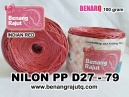 benang rajut - NILON PP D27 - 79 (INDIAN RED)