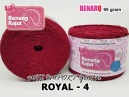 ROYAL 4 MIX IMPORT YARN (LACE/TAPLAK/DECORABLE)