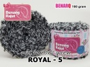 ROYAL 5 MIX IMPORT YARN (ACRYLIC FUR I BULU)