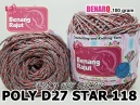 PD27S118 I POLY D27 STAR - 118