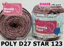 PD27S123 I POLY D27 STAR - 123