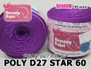 POLY D27 STAR 60 UNGU