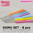 GOMU SET ISI 8 JARUM