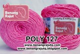 benang rajut POLY 127 - Medium B Pink