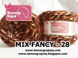 benang rajut limited MIX FANCY YARN - 28