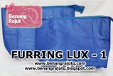aksesoris tas dan rajutan FURRING LUX - 1 Biru (LIMITED EDITION - ONLY 2 PC READY)