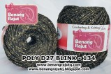 benang rajut medium POLY D27 BLINK - 134