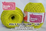 benang rajut medium POLY D27 BLINK - 139