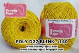 benang rajut medium POLY D27 BLINK - 140