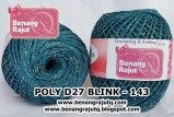 benang rajut medium POLY D27 BLINK - 143