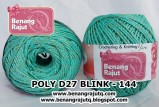 benang rajut medium POLY D27 BLINK - 144