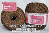 benang rajut medium POLY D27 BLINK - 146