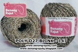 benang rajut medium POLY D27 BLINK - 147