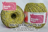 benang rajut medium POLY D27 BLINK - 150