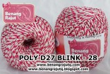 benang rajut medium POLY D27 BLINK - 28