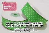 aksesoris Pita PP-B 13 (BRIGHT GREEN)