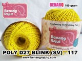 benang rajut medium POLY D27 BLINK (SV) - 117