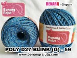 benang rajut medium POLY D27 BLINK (G) - 59