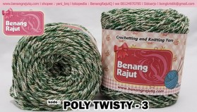 benang rajut POLY TWISTY 3