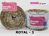 ROYAL 3 MIX IMPORT YARN (LACE/TAPLAK/DECORABLE/WEARABLE)