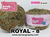 ROYAL 8 - MIX FANCY YARN