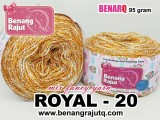 ROYAL 20 - MIX FANCY YARN