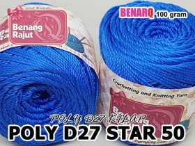 POLY D27 STAR 50 NAVY