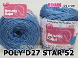 POLY D27 STAR 52 DESSERT BLUE