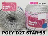 POLY D27 STAR 59 SILVER