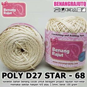 PD27S68 I POLY D27 STAR 68