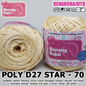 PD27S70 I POLY D27 STAR 70