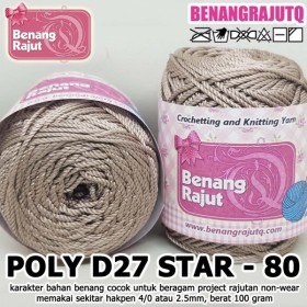 PD27S80 I POLY D27 STAR 80