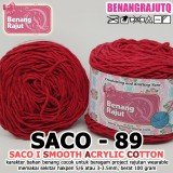SACO89 I SMOOTH ACRYLIC COTTON-89 MERAH