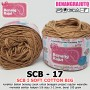 SCB17 I SOFT COTTON BIG 17 COFFE MILK